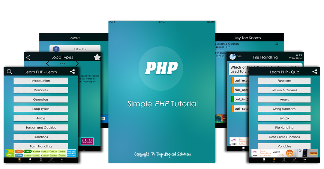 Learn PHP – PHP Tutorial